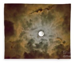 Brilliant Night Sky Fleece Blanket