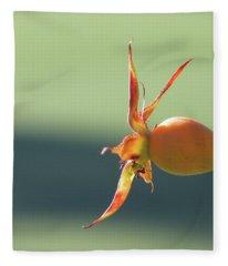 Brilliant Seed Pod Fleece Blanket