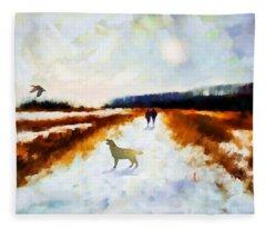 Broadland Walk Fleece Blanket