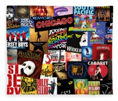 Broadway 3 Fleece Blanket