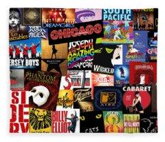 Broadway 3 Fleece Blanket