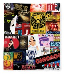 Broadway 9 Fleece Blanket