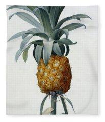 Bromelia Ananas Fleece Blanket