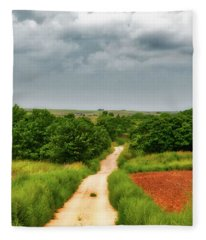 Fleece Blanket featuring the photograph Brooding by Rick Furmanek