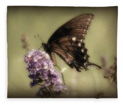 Brown And Beautiful Fleece Blanket