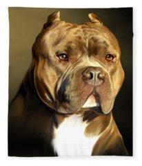 Pitbull Fleece Blankets