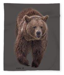 Brown Bear 8   Fleece Blanket