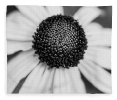 Brown Eyed Susan Fleece Blanket