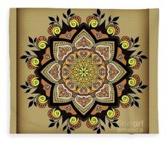 Brown Opal Fleece Blanket