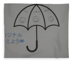 Browser Crusher Umbrella Fleece Blanket
