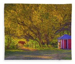 Brunner Organic Family Farm Fleece Blanket
