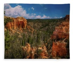 Bryce Canyon From The Top Fleece Blanket