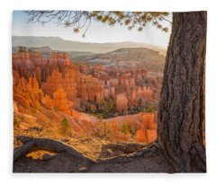 Bryce Canyon National Park Sunrise 2 - Utah Fleece Blanket