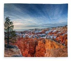 Bryce Canyon Sunrise Fleece Blanket