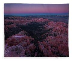 Bryce Point Fleece Blanket