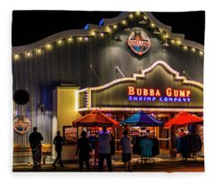 Bubba Gump Shrimp Company Fleece Blanket