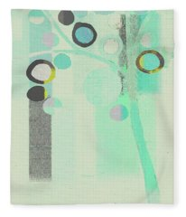 Bubble Tree - S85c39l Fleece Blanket