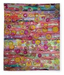 Bubble World Fleece Blanket