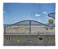Buccaneer Beach Fleece Blanket