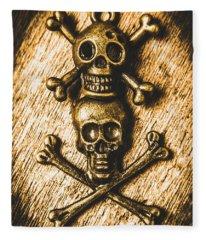 Buccaneer Bones Fleece Blanket