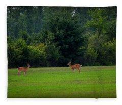 Buck Spirits Fleece Blanket