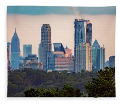 Buckhead Atlanta Skyline Fleece Blanket