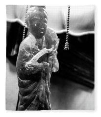 Buddha's Light Fleece Blanket