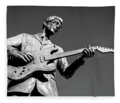 Buddy Holly 4 Fleece Blanket