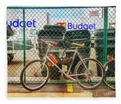 Budget Bicycle Fleece Blanket