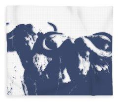 Buffalo 2 Fleece Blanket