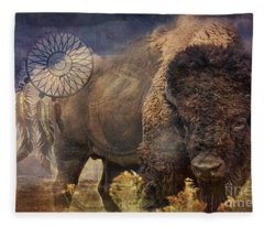 Buffalo Medicine 2015 Fleece Blanket