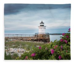 Bug Light Blooms Fleece Blanket