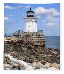 Bug Lighthouse Fleece Blanket