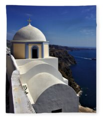 Building In Fira Fleece Blanket
