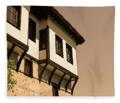 Bulgarian House Fleece Blanket