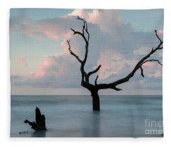 Bull Island Dawn Fleece Blanket