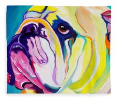 Bulldog - Bully Fleece Blanket