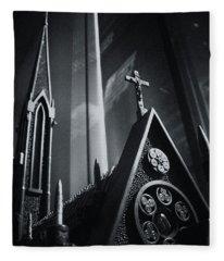 Bullet Church Fleece Blanket