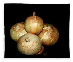 Bunch Of Onions Fleece Blanket