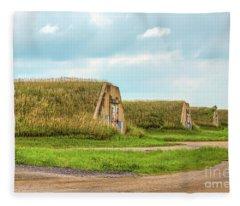 Bunkers Fleece Blanket