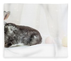 Bunny Trail Fleece Blanket