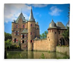 Burg Satzvey - Mechernich, Germany Fleece Blanket