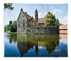 Burg Vischering Fleece Blanket