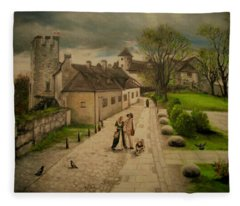 Burghausen Fortress Fleece Blanket