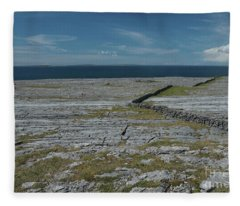 Burren Collection Fleece Blanket