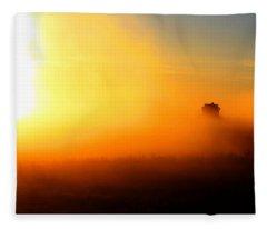 Burst Fleece Blanket
