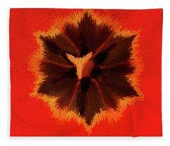 Bursting Fleece Blanket