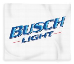 Busch Light Fleece Blanket