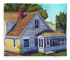 Bushnell House - Eagle Idaho Fleece Blanket