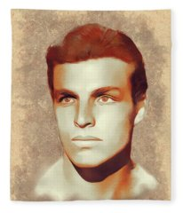 Buster Crabbe, Hollywood Legend Fleece Blanket